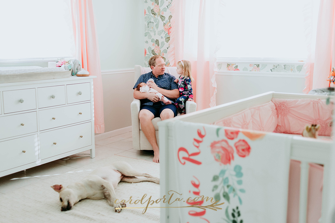 carol porta photography multi generation extended family newborn south florida plantation photographer