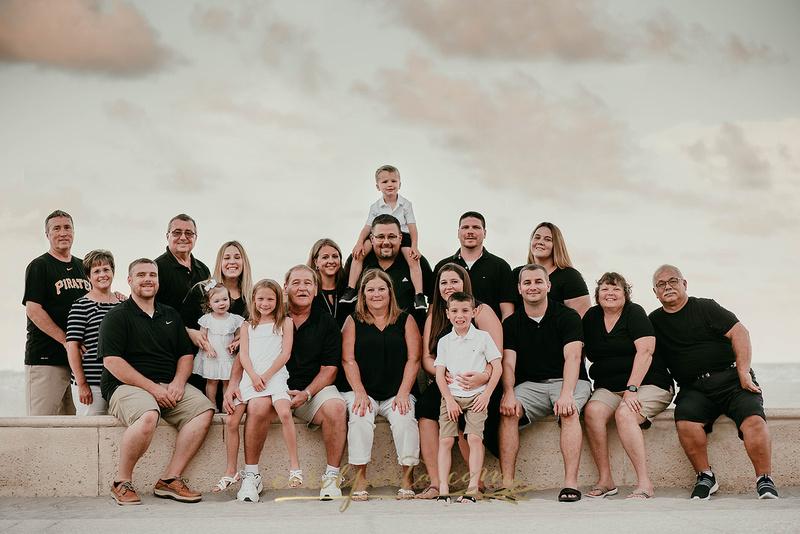 Carol Porta Photography South Florida Margaritaville Hollywood Beach Extended Family Vacation Photographer