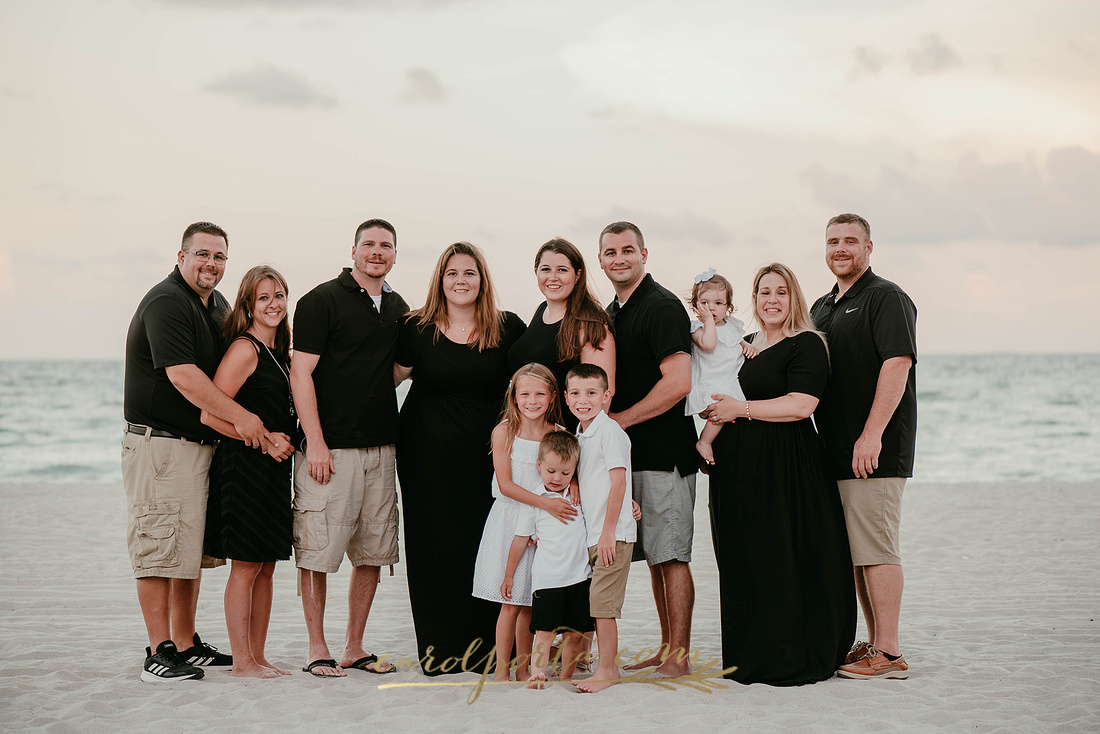 Carol Porta Photography South Florida Margaritaville Hollywood Beach Extended Family Vacation Photographer