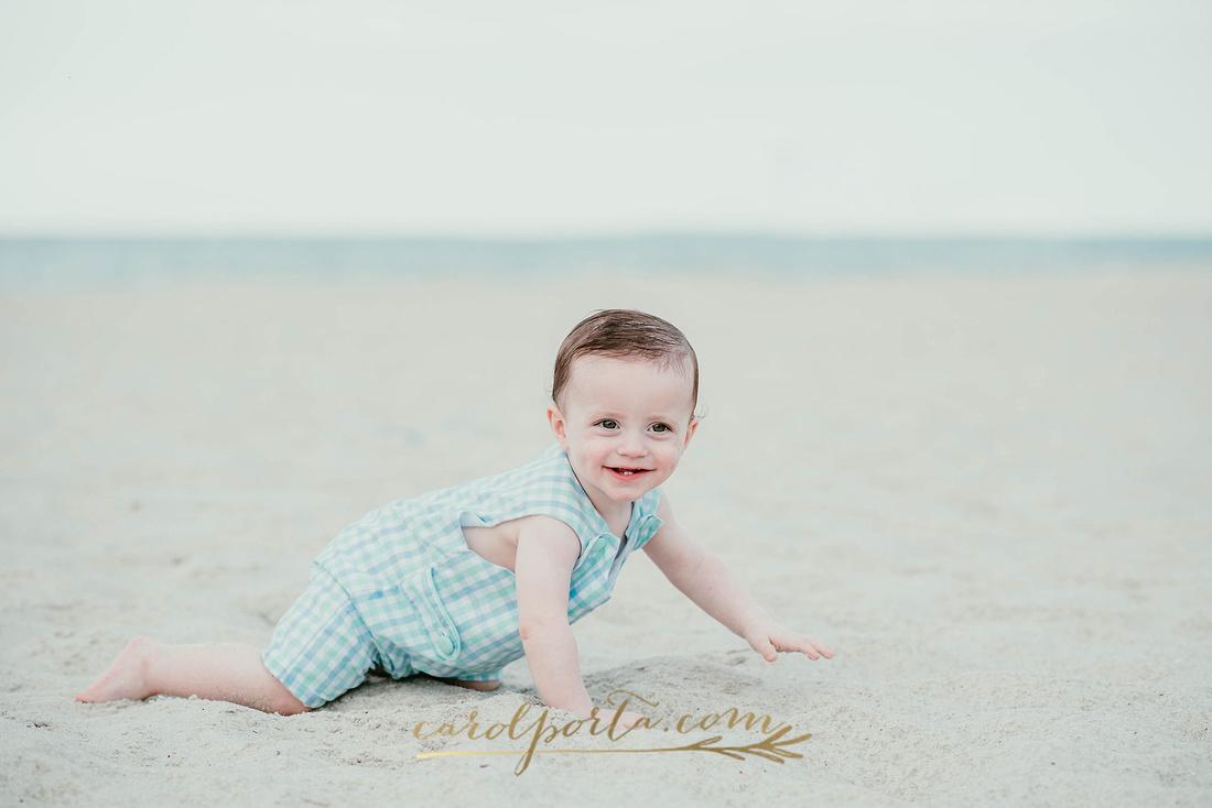 Carol Porta Photography Family baby milestones hollywood beach fl florida photographer