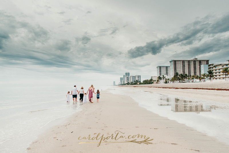 Carol Porta Photography Hollywood Beach South Florida Extended Family Vacation photographer
